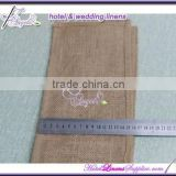 China factory direct wholesale natural burlap wedding sashes for special events, wedding chair covers