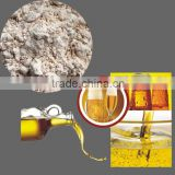 Diatomaceous earth for beer