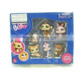 2011 plastic pet (6pcs)