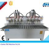 multi spindles engraving machine wood cnc router with Automatic Non Woven Fabric Cutting Machinery