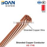 Copper Conductor, HDBC, Stranded Bare Copper Conductor Cable (AS 1746)