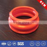 High quality molded polyurethane PU bushing shaft sleeve