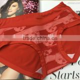 spandex and bamboo fiber good material underwear for girl panty