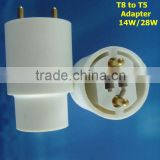 14w T8 to T5 energy-saving lamp holder adapter