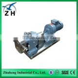 lobe pump for dairy and milk honey and molasses food pump