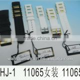 various silicone watch strap band