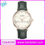High quality quartz watches stainless steel back branded brand your own watches with your logo