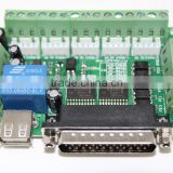 2015 Newest Upgraded 5 Axis CNC Interface Adapter Breakout Board For Stepper Motor Driver MACH3