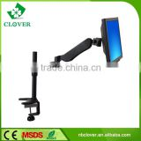 Best quality black LCD desk bracket LCD tv table mount