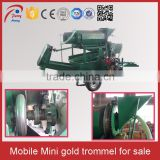 Small Scale Washing Plant Mini Small Gold Trommel Screen For Sale                                                                                                         Supplier's Choice