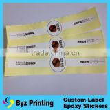 PVC Print Sleeve Label /Mineral water bottle printing label / PVC Heat Shrink Plastic Bottle Label