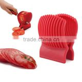 Manual Tomato Holder Slicer Guide Potato/Onion Fruit Vegetable Cutter Tools Kitchen Tools Vegetable Spiralizer