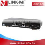LINK-MI 70m 1*2 HDBaseT HDMI Splitter over cat5e/6 cable supports 3D and IR, LINK-MI 70m 2-port 3D IR CEC HDBaseT HDMI Splitter