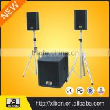 2014 Latest Active Speaker big woofer speakers sub bass