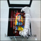 aluminium packing rescue tools including fire mask, fire blanket, fire extinguisher, fire gloves, fire axe, fire belt