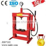 10 ton hydraulic shop press with gauge for sale