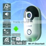 New Product of 2016 Smart Cobell Video Door Phone Support Remote Access,P2P 2-way Audio Home Product