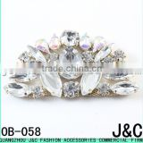 crystal ab acrylic shoes buckle accessories