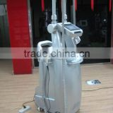Professional body shaping vacuum cavitation slimming machine with motor roller for face and body