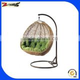 ZT-6010S New style egg shaped large wicker chairs