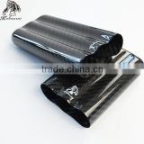 Guangzhou Caben Top Supplier Of Black Real Carbon Fiber Gloss Finish Cigar Travel Case 3 Tube cigar box With Facy box