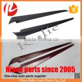 Toyota hiace KDH 200 2005-16 carbon fiber window front door garnish knife strip cover accessories
