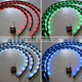 Wireless 7 Color LED Under Car Underbody Neon Strip auto Light Kits