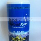 High quality 340g packing net weight 220g R134a refrigeirant gas plus leak sealer car AC sealant OEM Packing