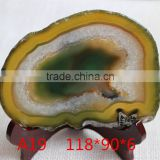 Yellow Agate Slices High Quality Agate Slices in bulk