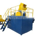 Professional rubber crusher plant with high quality
