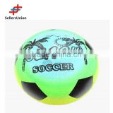 No. 1 yiwu agent Top quality inflatable beach ball PVC toy ball with beach soccer printed