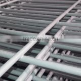 Factory price wholesale gray color PVC coated welded wire mesh fence 10 year service life,5-8mm hot dipped weld wire mesh fence