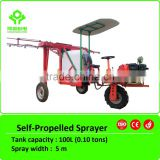 3.5HP self-propelled 100L agricultural sprayer