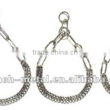 LF-JC-11 stainless steel double row link chain pet chain,dog chain