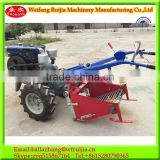 GEAR /CHAIN transmission Potato harvester used for 8-22HP walking tractor ,Farm tractor with potato digger for sale