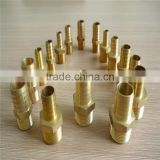 CNC 1/4 Brass Hose Male Connector Fittings for air compressor