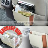 Wholesale ABS+TPR folding car storage rubbish box rubbish bin
