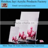 factory sale Acrylic sign holder clear Table card menu Display stand
