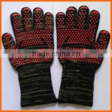 Anti Cut Extreme Heat Resistant BBQ Gloves 932F Silicone BBQ Grill Cooking Gloves Oven Mitts