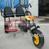 Latest adult double seats pedal car with adjustale seat FTF150AB