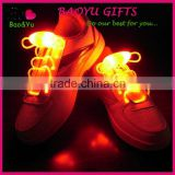 New Party Decorations Colorful flashing LED shoelaces light up LED shoelaces with battery wholesale
