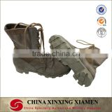 High Quality Oxford Fabric Genuine Leather Outdoor Army Hiking Military Tactical Man Shoes Boots