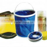 4 pcs Car Cleaning Kit With Flodable Bucket