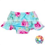 Wholesale Summer Baby Pants Boutique Clothing Ruffle A Variety Of Printing Pattern Design Toddler Shorts For Fashion Kids