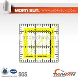 "2.5""x2.5"" quilting ruler for tailor"