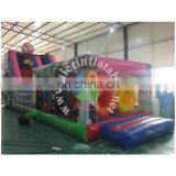 Hot big inflatable dry jumping slide inflatable toys / Masha and bear slide inflatable for baby and adult