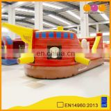 AOQI commercial use excellent quality amusement park decorative pirate boat kids outdoor pirate ship for promotion