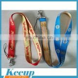 High quality Promotional Bespoke Lanyard Strip With Metal Hook/polyester lanyard/nylon lanyard