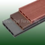 wood plastic composite outdoor decking floor