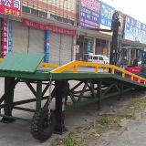 Tri Fold Loading Ramps Ce Mobile Forklift Ramps For Containers Image